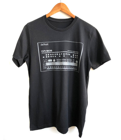 909 Drum Sequencer T-Shirt, Detroit DR-909, Well Done Goods