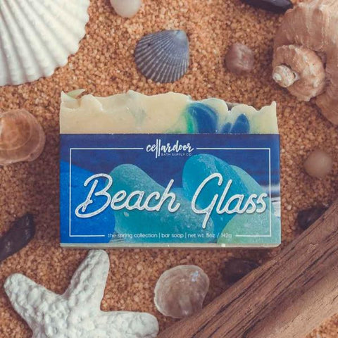 Cellar Door Beach Glass Bar Soap at Well Done Goods