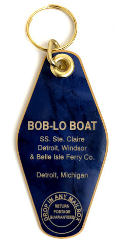 Bob-Lo Boat Motel Style Keychain, Well Done Goods