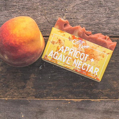 Cellar Door Bar Soap: Apricot & Agave Nectar