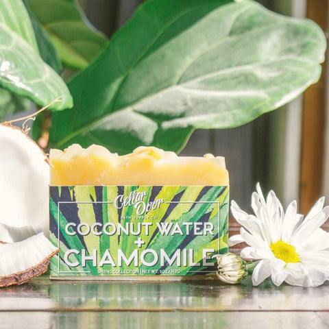 Cellar Door Bar Soap: Coconut Water & Chamomile