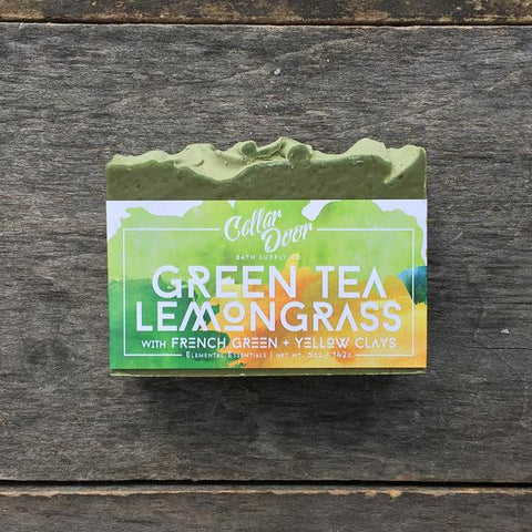 Cellar Door Bar Soap: Green Tea Lemongrass