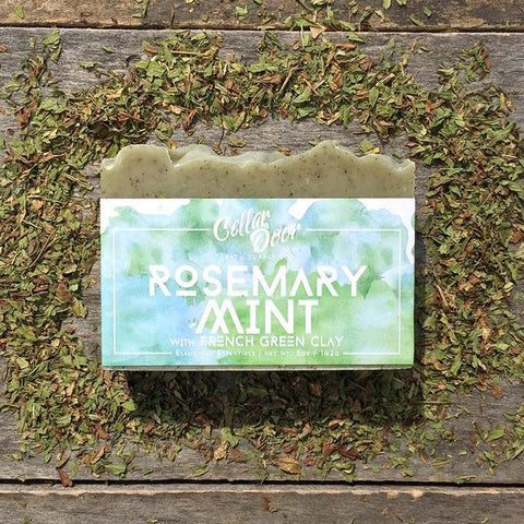 Cellar Door Bar Soap: Rosemary Mint