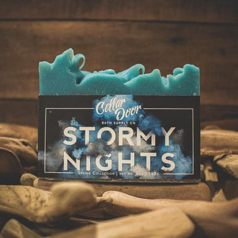 Cellar Door Bar Soap: Stormy Nights