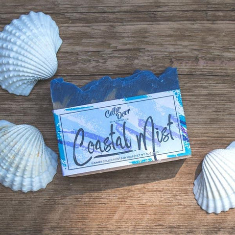 Cellar Door Bar Soap: Coastal Mist, at Well Done Goods