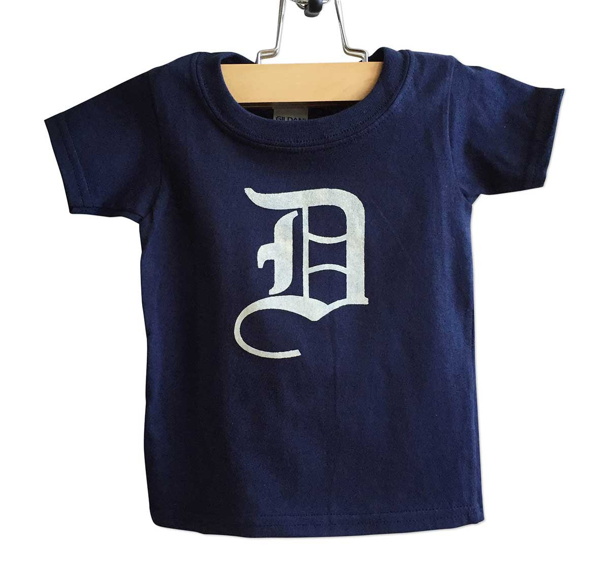 old english d detroit toddler t shirt well done goods