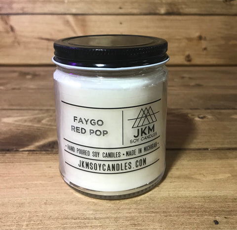 Faygo Cream Red Pop Candle: JKM Soy Candles