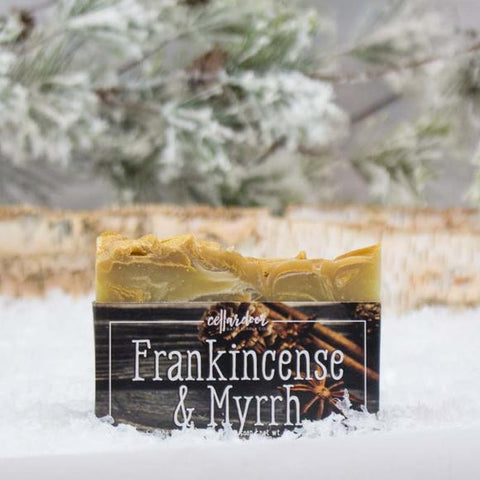 Cellar Door Bar Soap: Frankincense & Myrrh