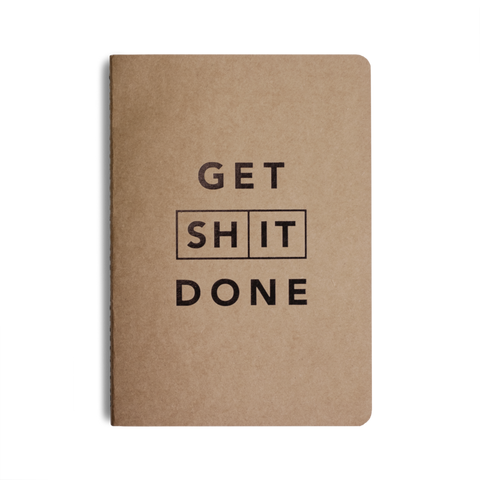 Get Shit Done, Pocket Notebook by MiGoals