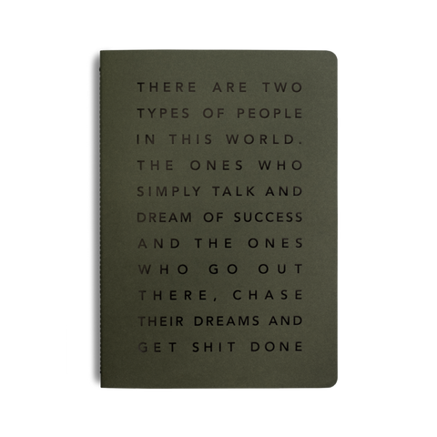 Get Shit Done, Manifesto Pocket Notebook by MiGoals