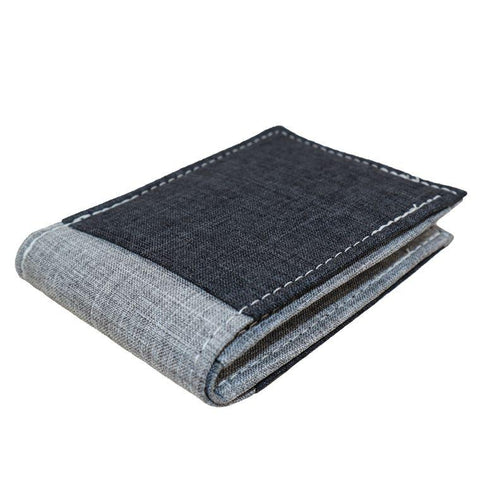 Heather Gray Bifold / Billfold Wallet, by Hold Supply