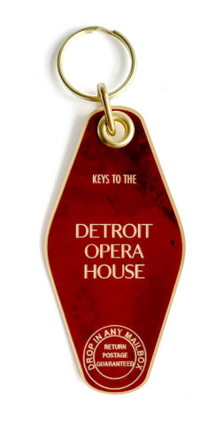 Keys to the Detroit Opera House Keychain