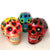 Hand Painted Ceramic Mexican Sugar Skull, Extra Large (Life Size!)
