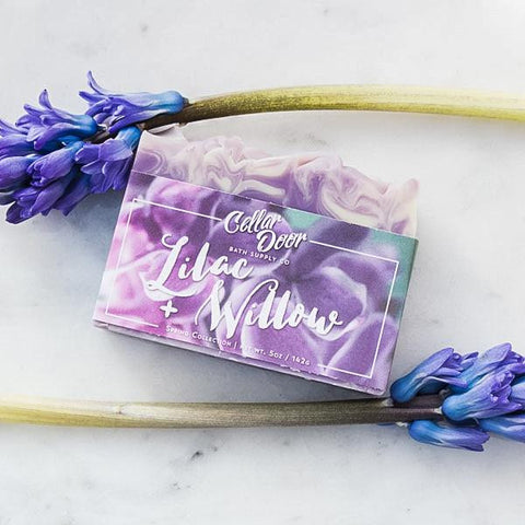 Cellar Door Soap: Lilac & Willow, at Well Done Goods