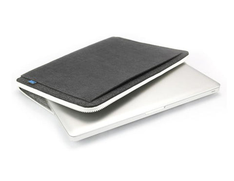 M.R.K.T. Johnson Laptop Sleeve, Charcoal