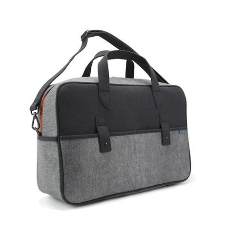 M.R.K.T. Martin Travel Bag, Elephant Grey/Iron