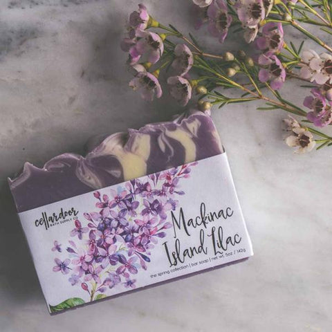 Cellar Door Mackinac Island Lilac Bar Soap at Well Done Goods
