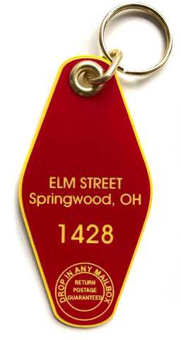 nightmare on elm street keychain