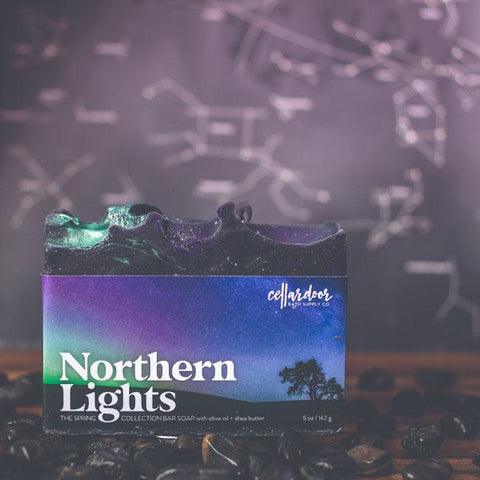 Cellar Door Bar Soap: Northern Lights