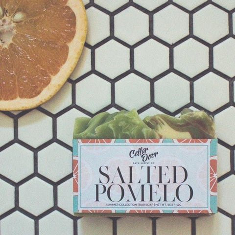 Cellar Door Bar Soap: Salted Pomelo at Well Done Goods
