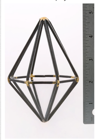 Metal Wire Frame Diamond, Well Done Goods