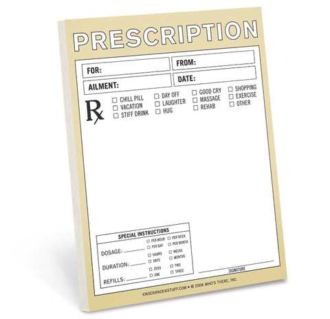 Prescription Nifty Notes