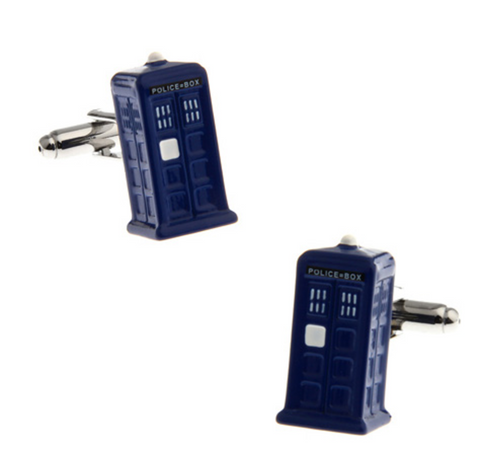 Tardis Box Cufflinks, Well Done Goods