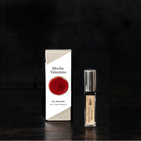 Sfumato Fragrances Mocha Valentino. 8mL atomizer, Well Done Goods