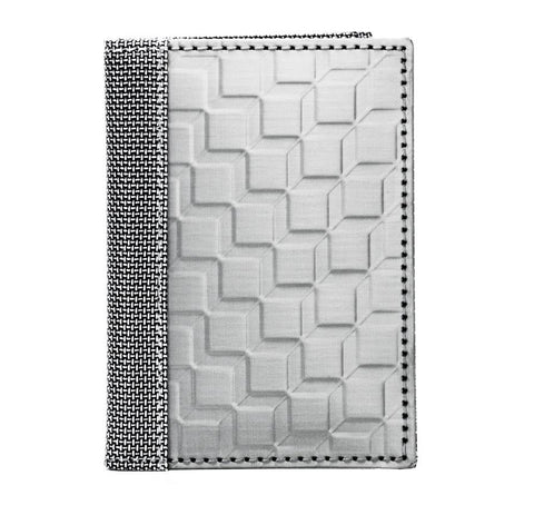 STEWART/STAND RFID Blocking Driving Wallet, Silver 3D Box