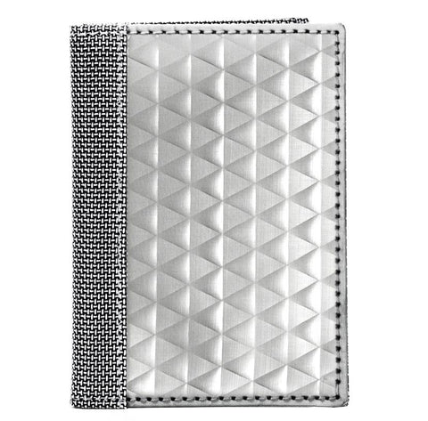 STEWART/STAND RFID Blocking Driving Wallet, Silver Triangle