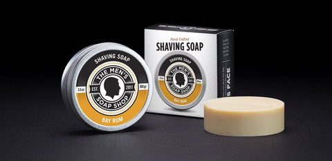 Shaving Soap, 1.2oz, The Mens Soap Shop