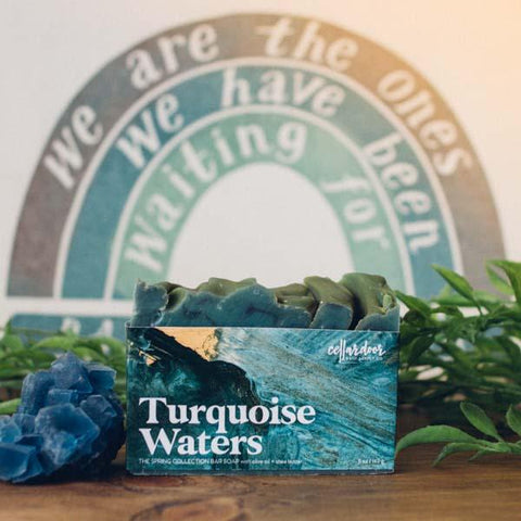 Cellar Door Bar Soap: Turquoise Waters