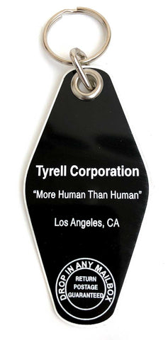 Tyrell Corporation Motel Style Keychain, Well Done Goods