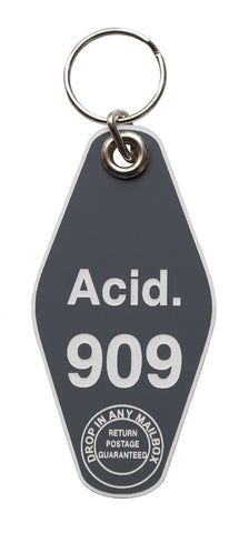 Acid, Room 909 Motel Style Keychain Tag, by Well Done Goods