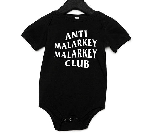 Anti Malarkey Malarkey Club Baby One Piece