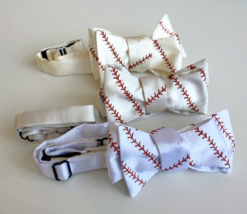 baseball bow ties, by cyberoptix