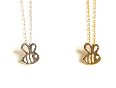 Bee Pendant Necklace, Well Done Goods