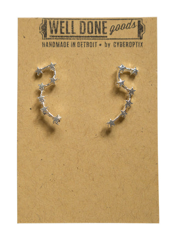 Big Dipper Constellation Stud Earrings, Well Done Goods