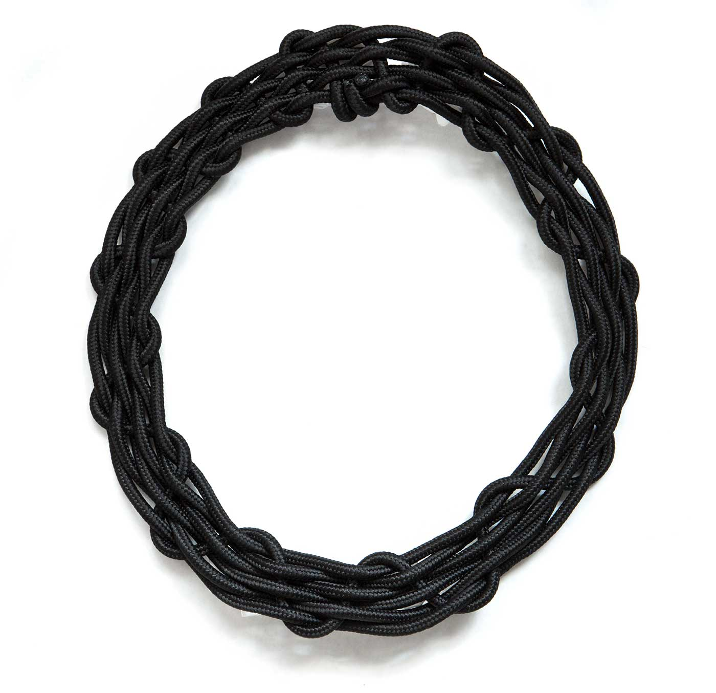 res painted floral hi statement rickis black rhodium necklace
