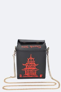 Chinese Food Takeout Box 3D Purse