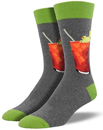 Bloody Mary Socks. Men's Fancy Socks, by Parquet.