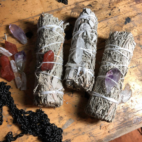 California White Sage Smudging Bundle