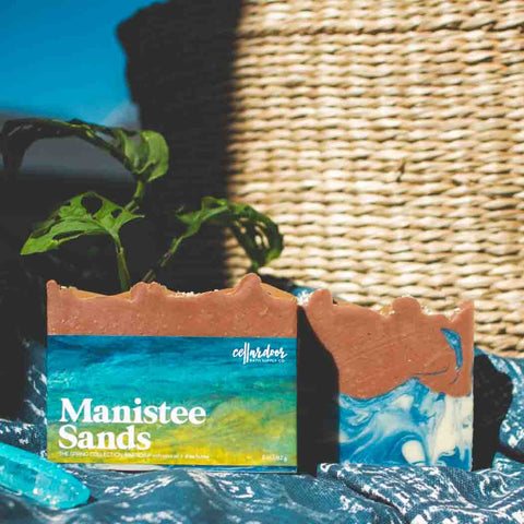 Copy of Cellar Door Bar Soap: Manistee Sands