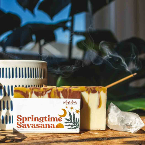 Cellar Door Bar Soap: Springtime Savasana