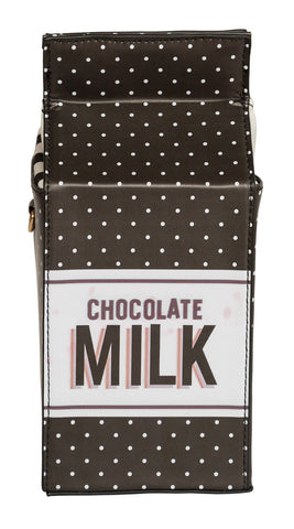Chocolate Milk 3D Clutch Bag, Well Done Goods
