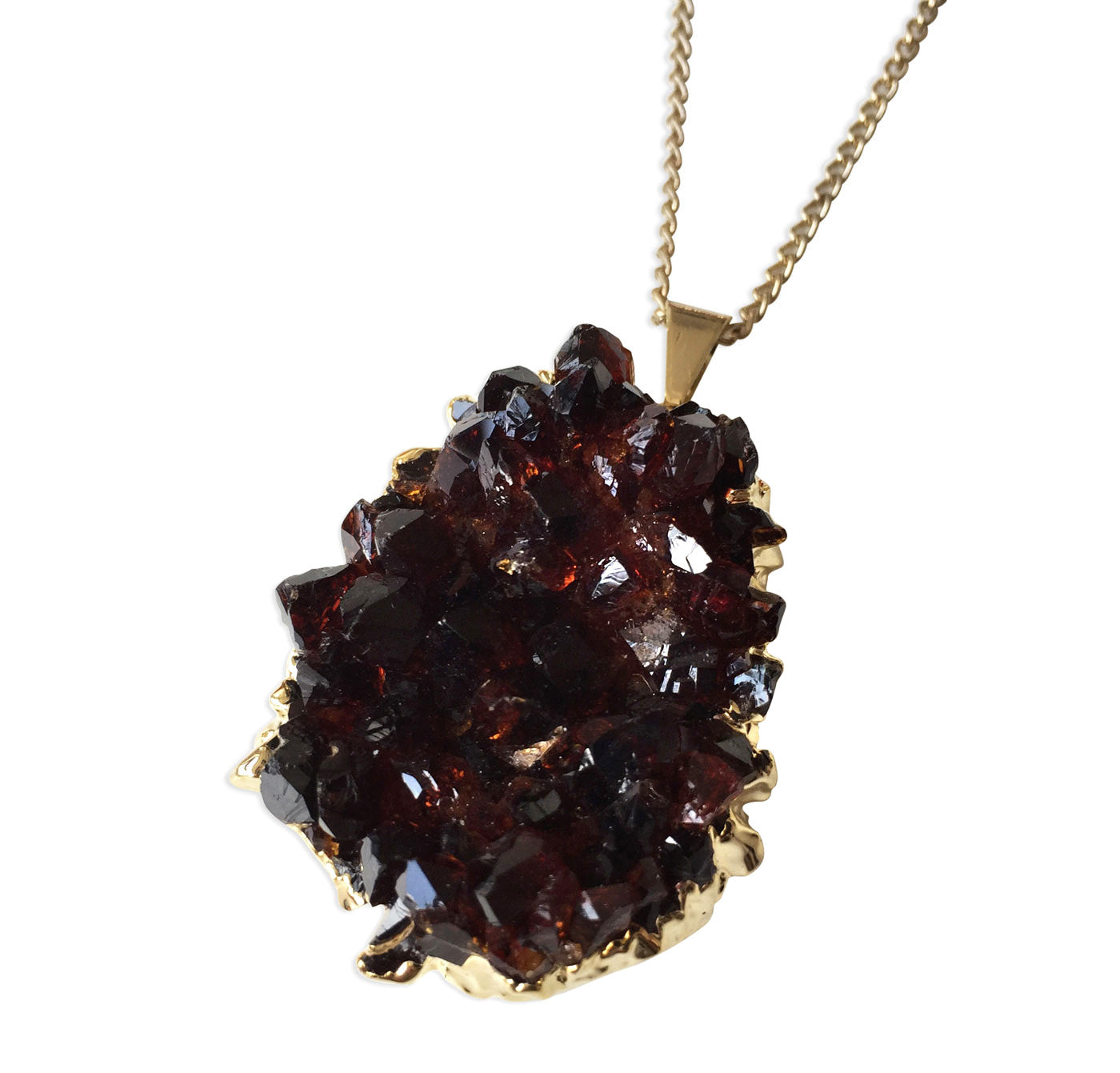 decadent stone raw fall for tutorial blog diy necklaces necklace crystal