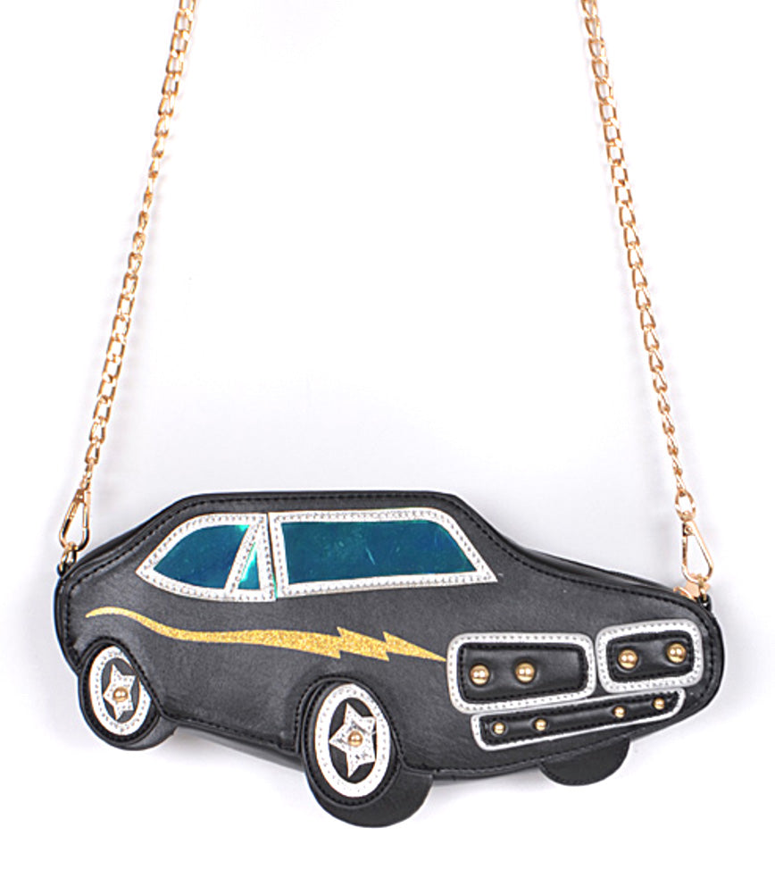Muscle Car 3d Purse