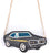 Muscle Car 3D Purse, Black.  Well Done Goods