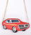 Muscle Car 3D Purse, Red.  Well Done Goods