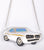 Muscle Car 3D Purse, Silver.  Well Done Goods